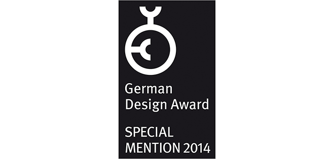CASENA receives Special Mention at the German Design Award 2014