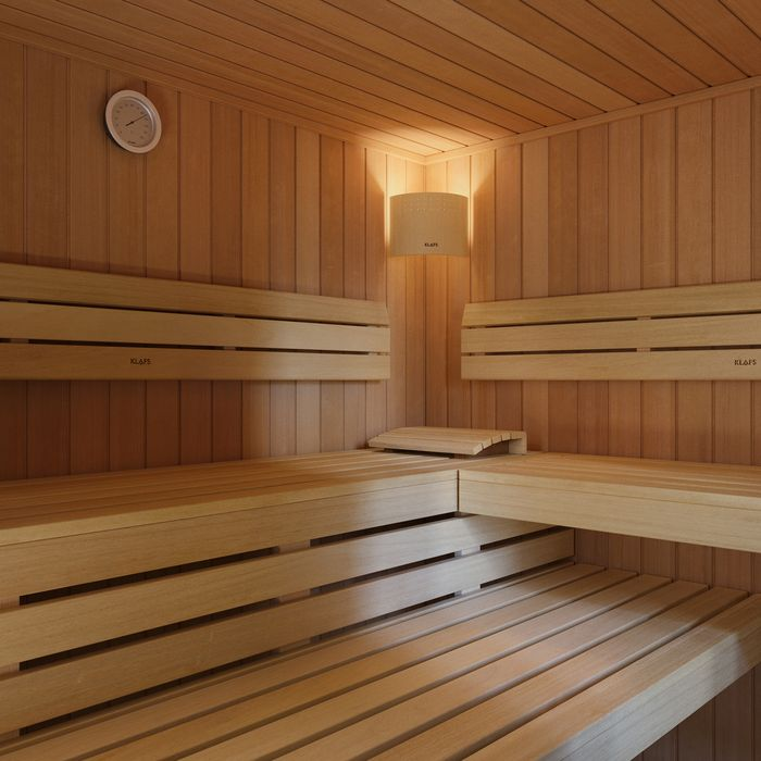 Interior design of the HOME Sauna