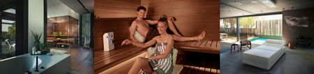 Sauna and wellness from KLAFS for your home