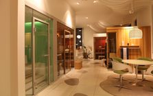 Sauna and spa showroom in Saarbrucken: Sauna cabins