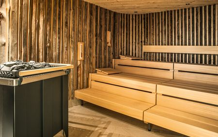 Alpine Spa: Sauna example
