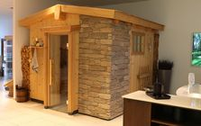 Sauna and spa showroom in Berlin: Cottage Sauna