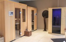 Sauna and spa showroom in Regensburg: Sauna area