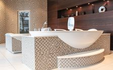 Sauna and spa showroom in Munich: SANOSPA