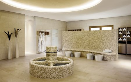 References sauna, spa, wellness: A-ROSA Resort & Hotel GmbH – Kneipp pool Sylt