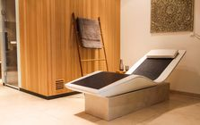 Sauna and spa showroom in Regensburg: LINEA
