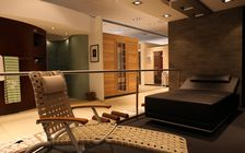 Sauna and spa showroom in Hamburg: Showroom
