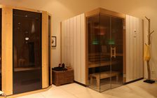Sauna and spa showroom in Saarbrucken: Sauna