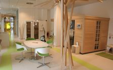 Sauna and spa showroom in Mannheim: Spruce sauna