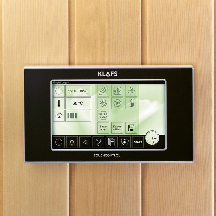KLAFS TOUCH CONTROL Professional
