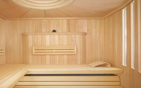 CHARISMA Sauna with LOUNGE sauna benches