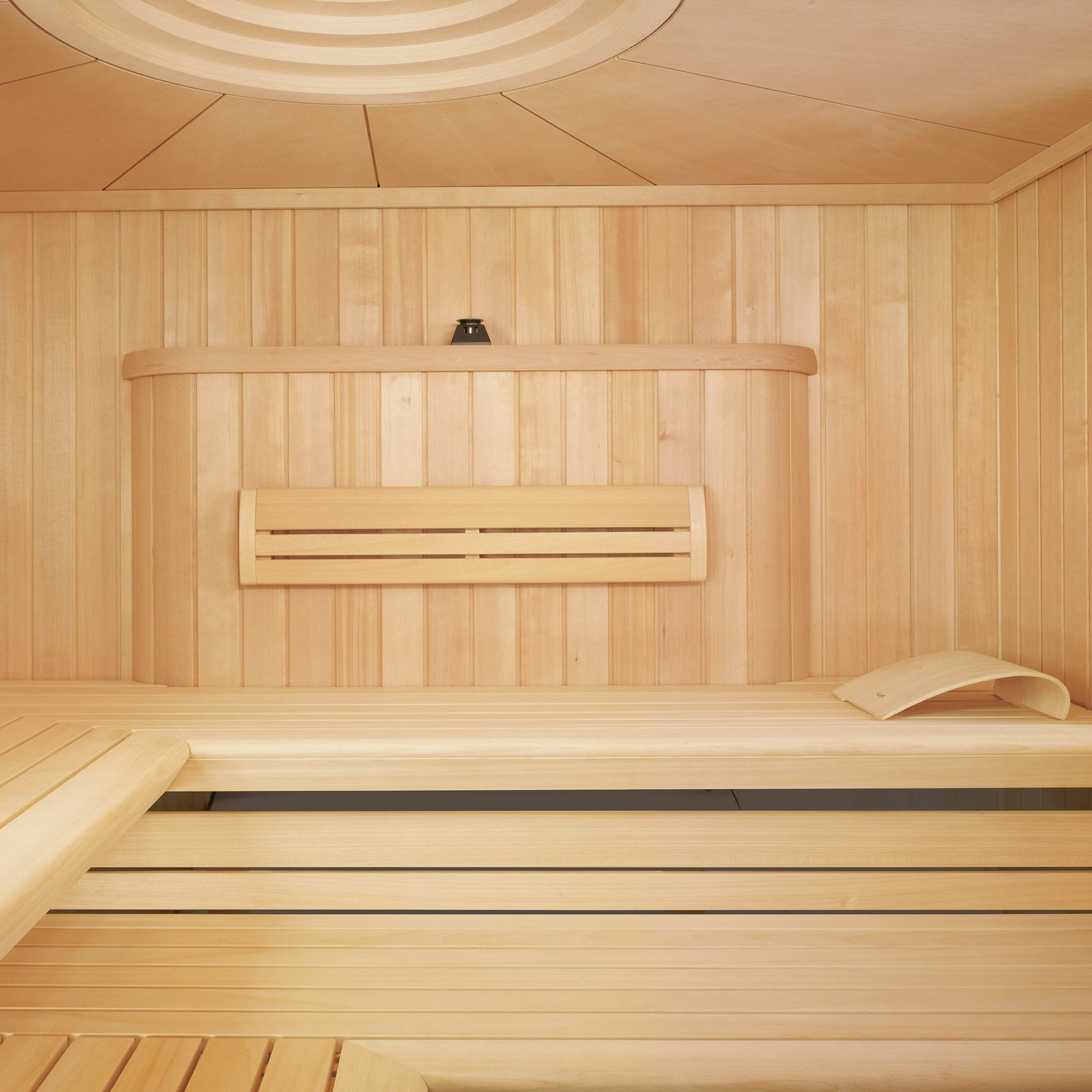 16 Attractive Window Seat Designs For Pleasant Relaxation: CHARISMA Sauna: The Sauna With Shower Area