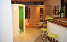 Sauna and spa showroom in Bielefeld: SMART SAUNA
