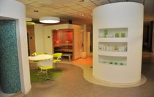 Sauna and spa showroom in Bielefeld: Showroom