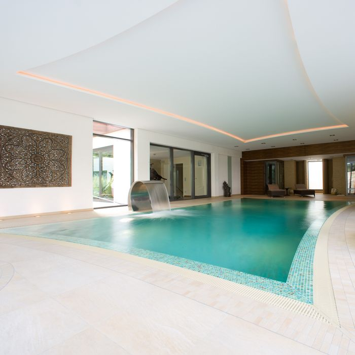 Whirlpools pool cold plunge by klafs for Ssf home designs