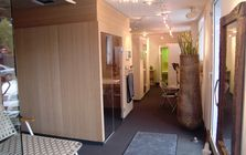 Sauna and spa showroom in Nuremberg: Showroom