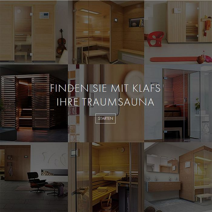 Sauna buying made easy: find your dream sauna at KLAFS