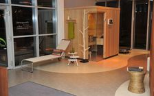 Sauna and spa showroom in Bielefeld: Overview