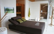 Sauna and spa showroom in Mannheim: Relaxation area
