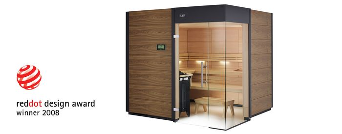 Masseinbau Sauna VENTANO reddot german Design Award