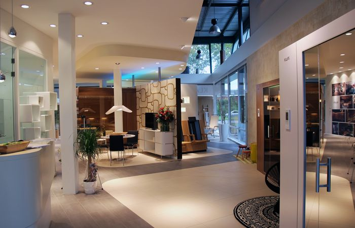 KLAFS sauna showroom Woerden