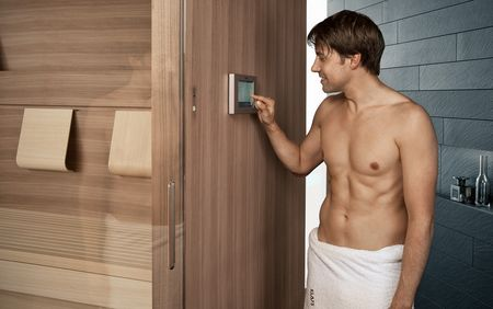 KLAFS sauna control units are equipped with all kinds of state-of-the-art technology.