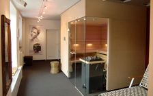 Sauna and spa showroom in Nuremberg: Sauna