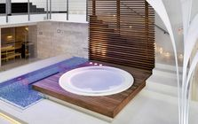 Sauna and spa showroom in Dusseldorf-Meerbusch: Pool