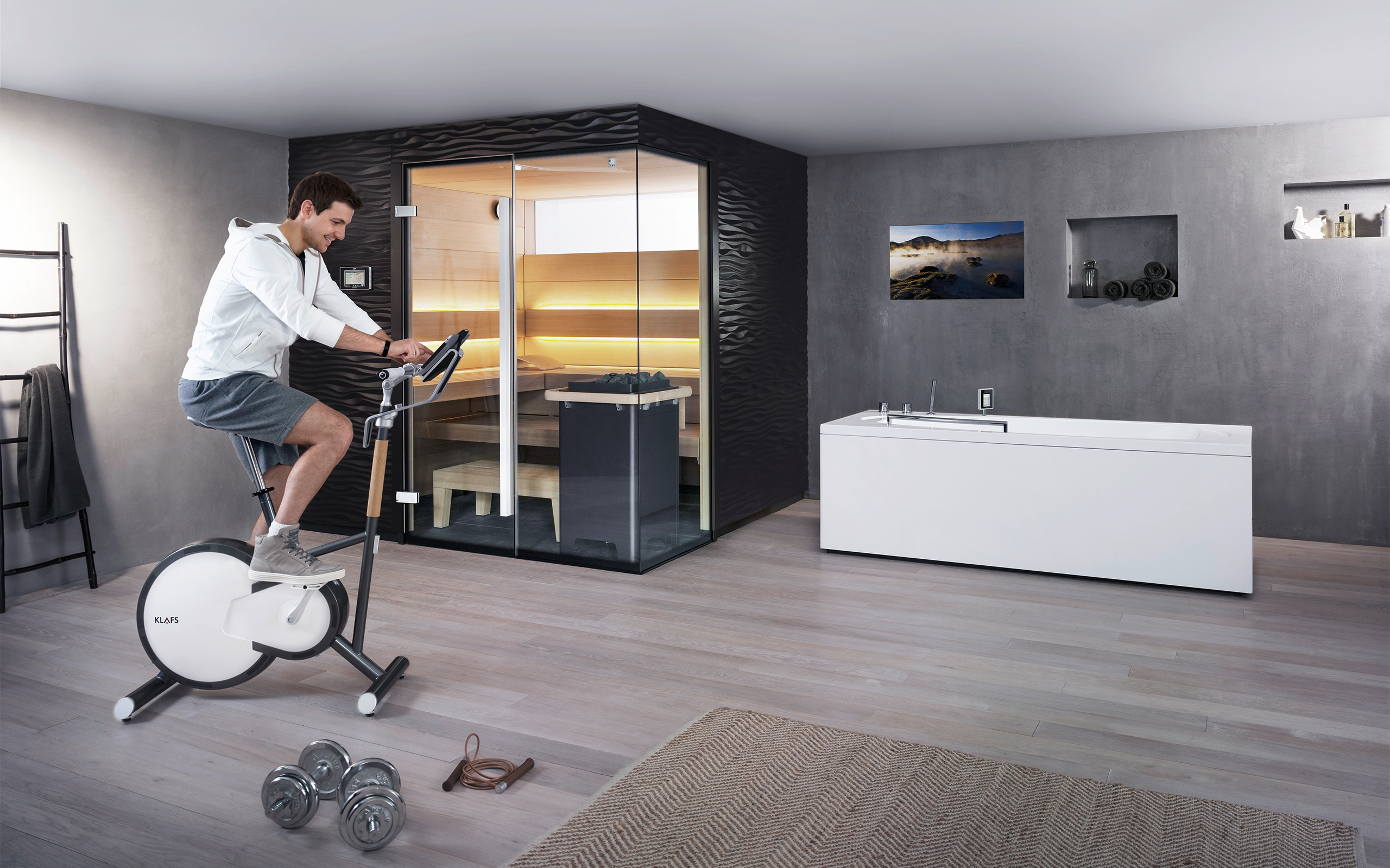ACT ERGOMETER: home fitness with aesthetic appeal