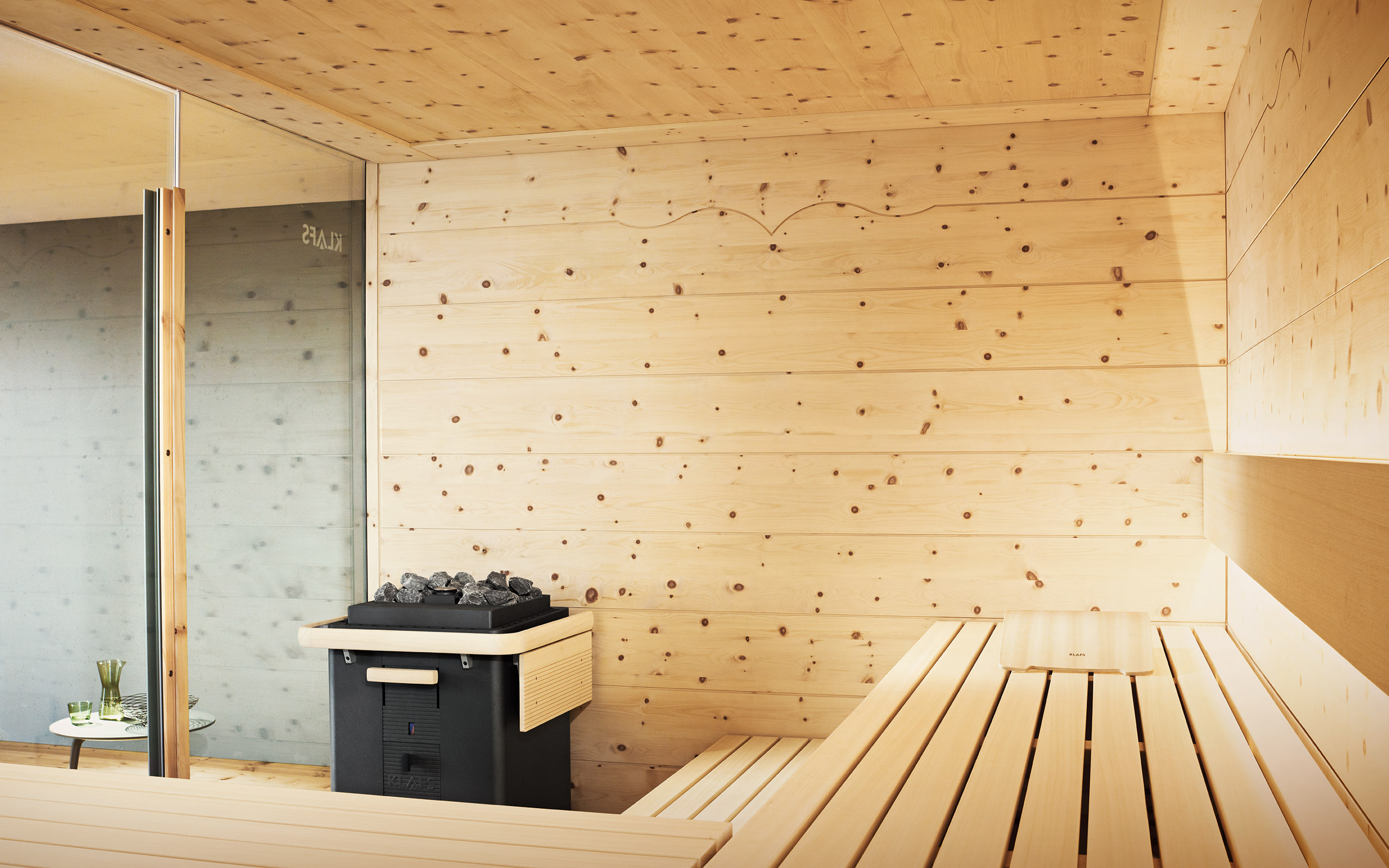 chalet design sauna the stylish yet cosy sauna. Black Bedroom Furniture Sets. Home Design Ideas