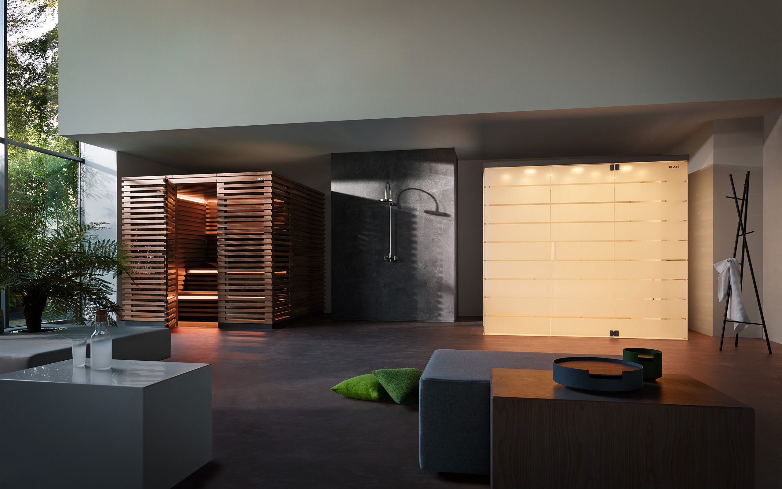 home steam room design. Matteo Thun Design Sauna And Steam Bath: Wood, Glass, Privacy. Home Room