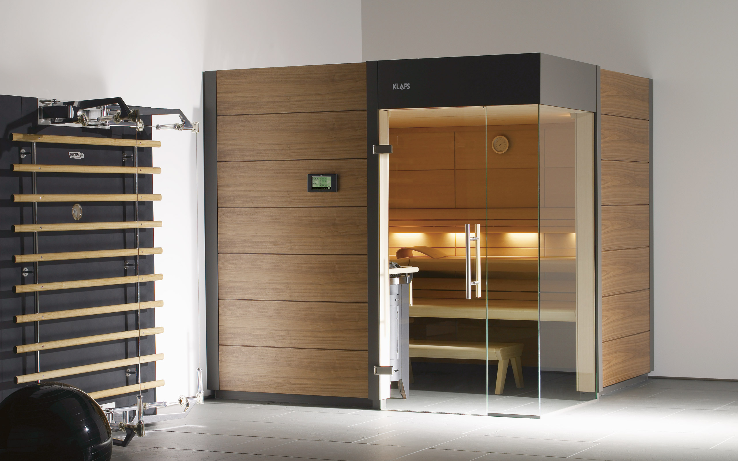 ventano design sauna contemporary yet timeless. Black Bedroom Furniture Sets. Home Design Ideas
