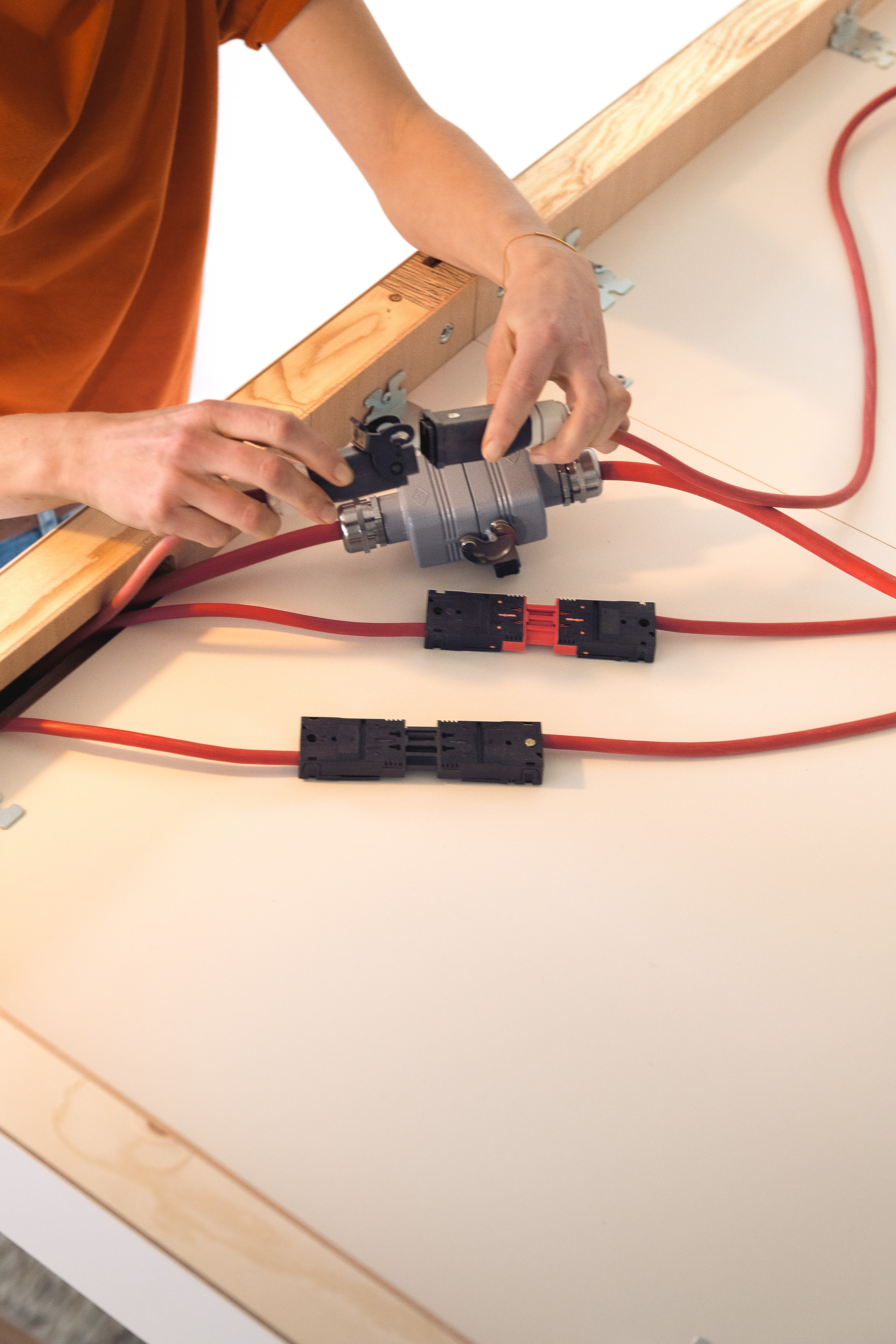 Klafs Sauna Easy The Diy Laminated Electrical Board Usually Fitted With Electronic Assembly Step 6