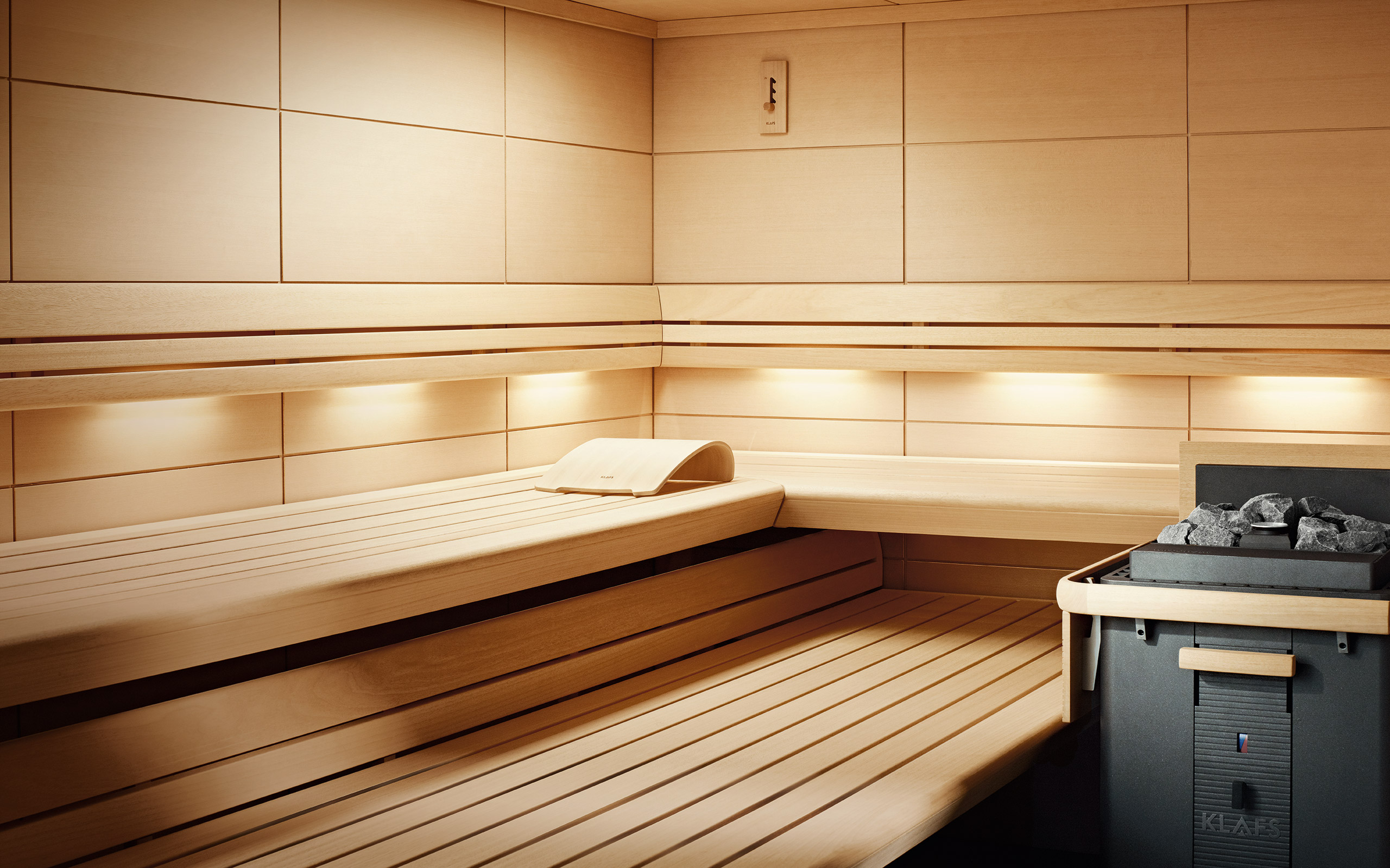 lounge sauna stylish sophisticated and customised. Black Bedroom Furniture Sets. Home Design Ideas