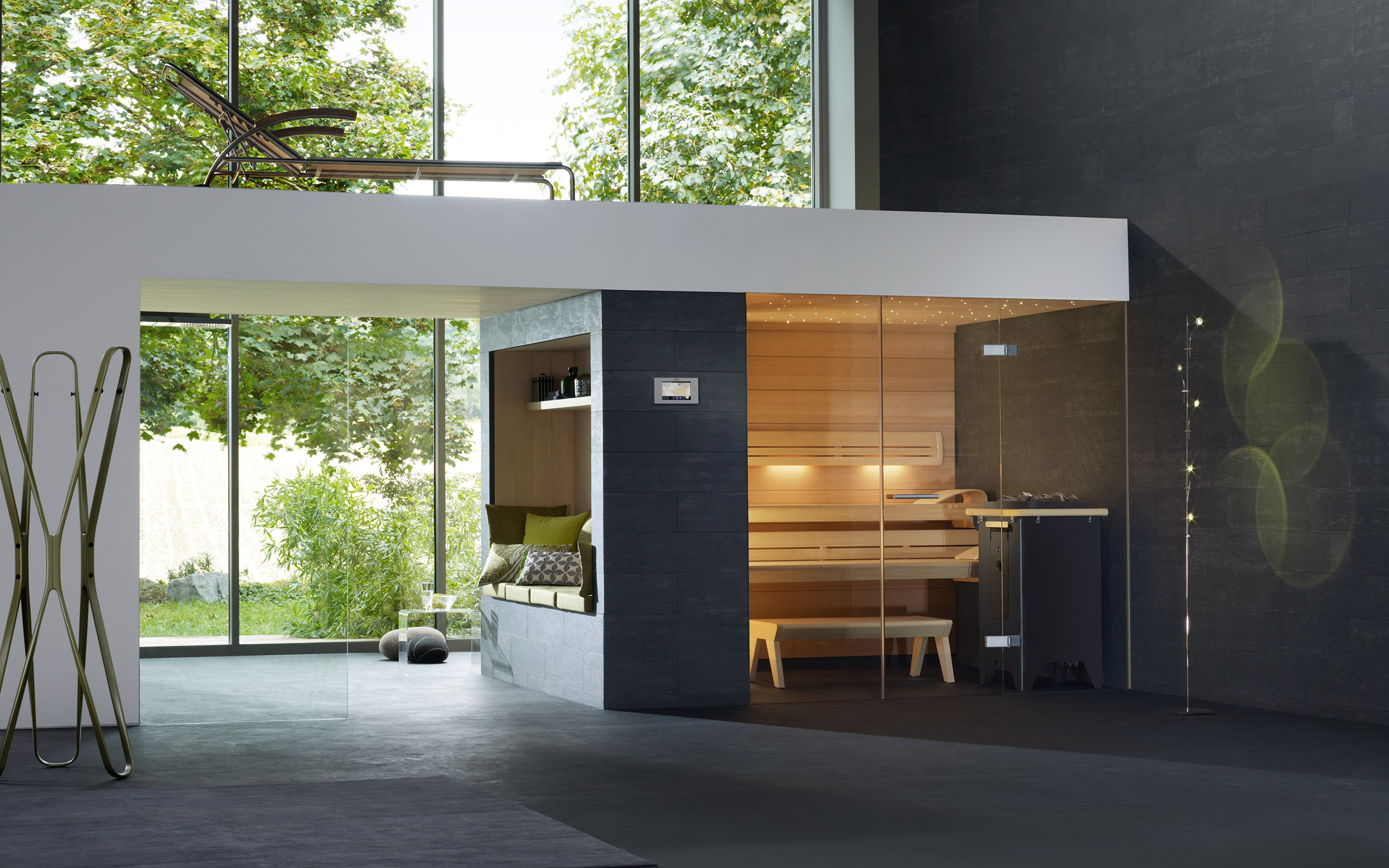 lounge q sauna individual interpretations premium quality. Black Bedroom Furniture Sets. Home Design Ideas