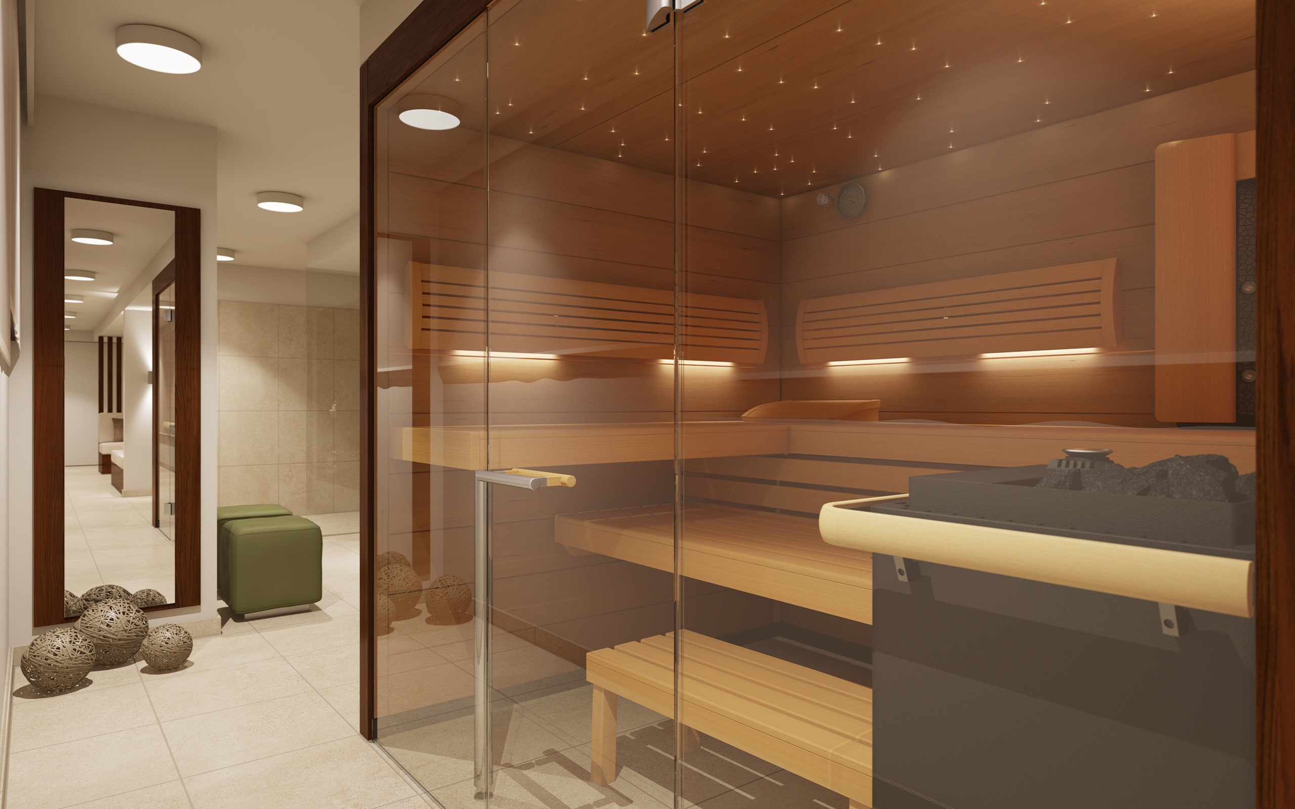 ideas and solutions for installing a sauna in your home spa - Sauna Design Ideas