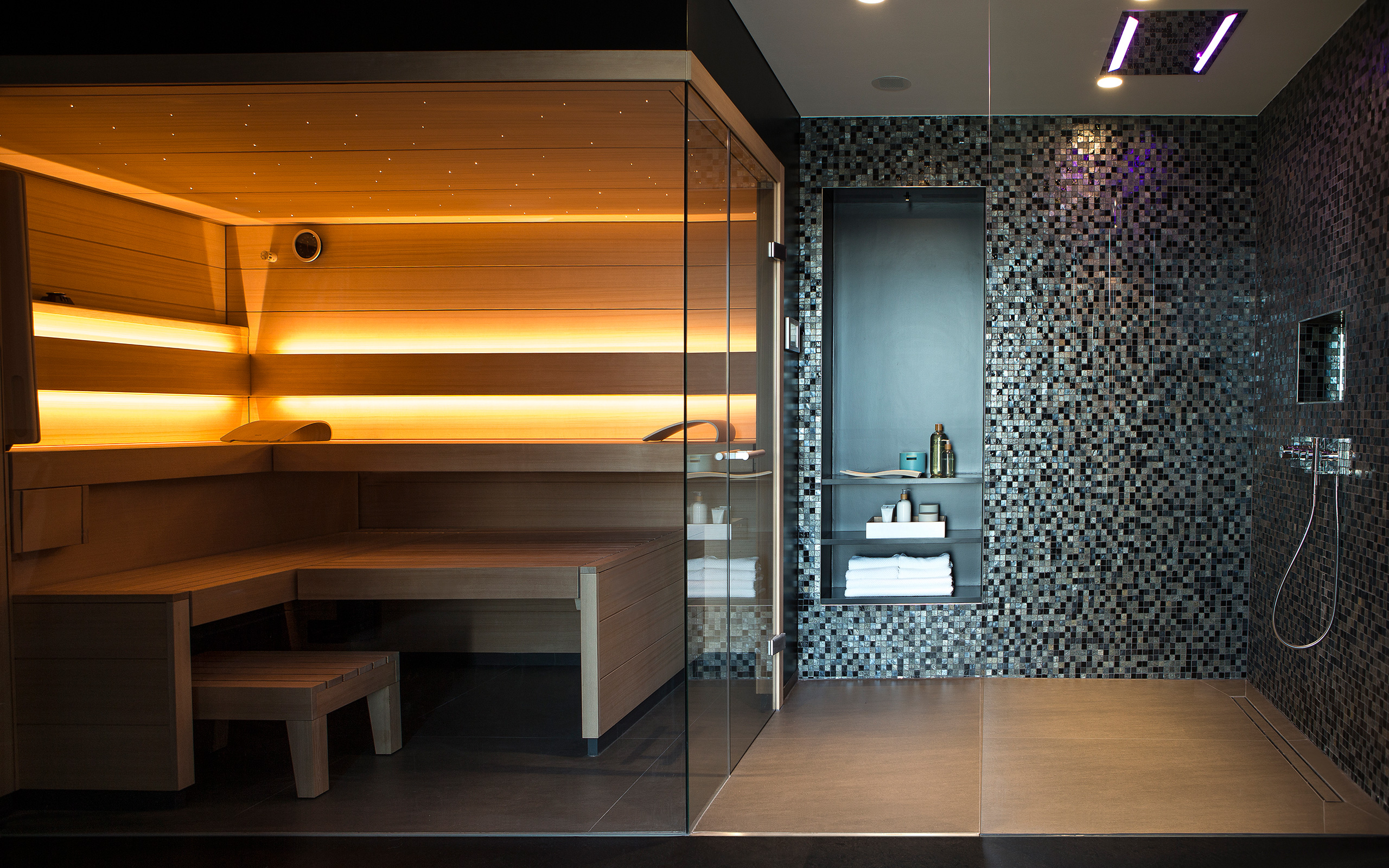 klafs roman weidenfeller s spa area. Black Bedroom Furniture Sets. Home Design Ideas