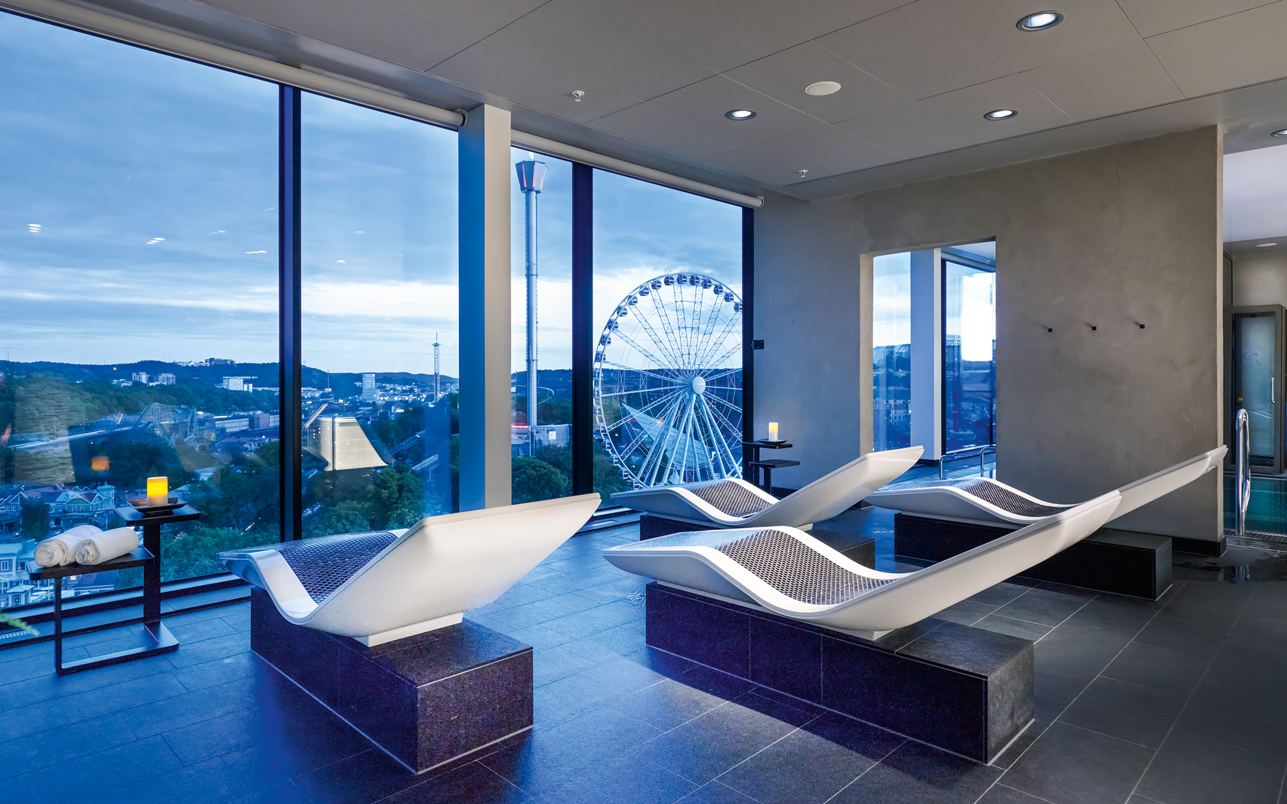 Upper House Gothia Towers Hotel References Klafs