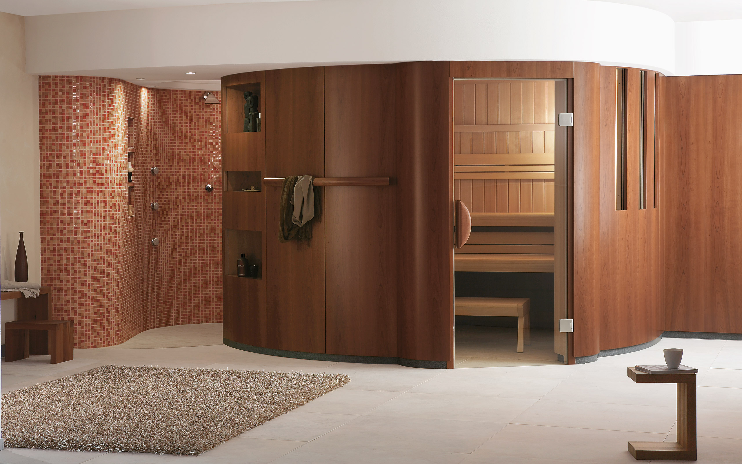 sauna showroom schw bisch hall in house of sauna spa. Black Bedroom Furniture Sets. Home Design Ideas